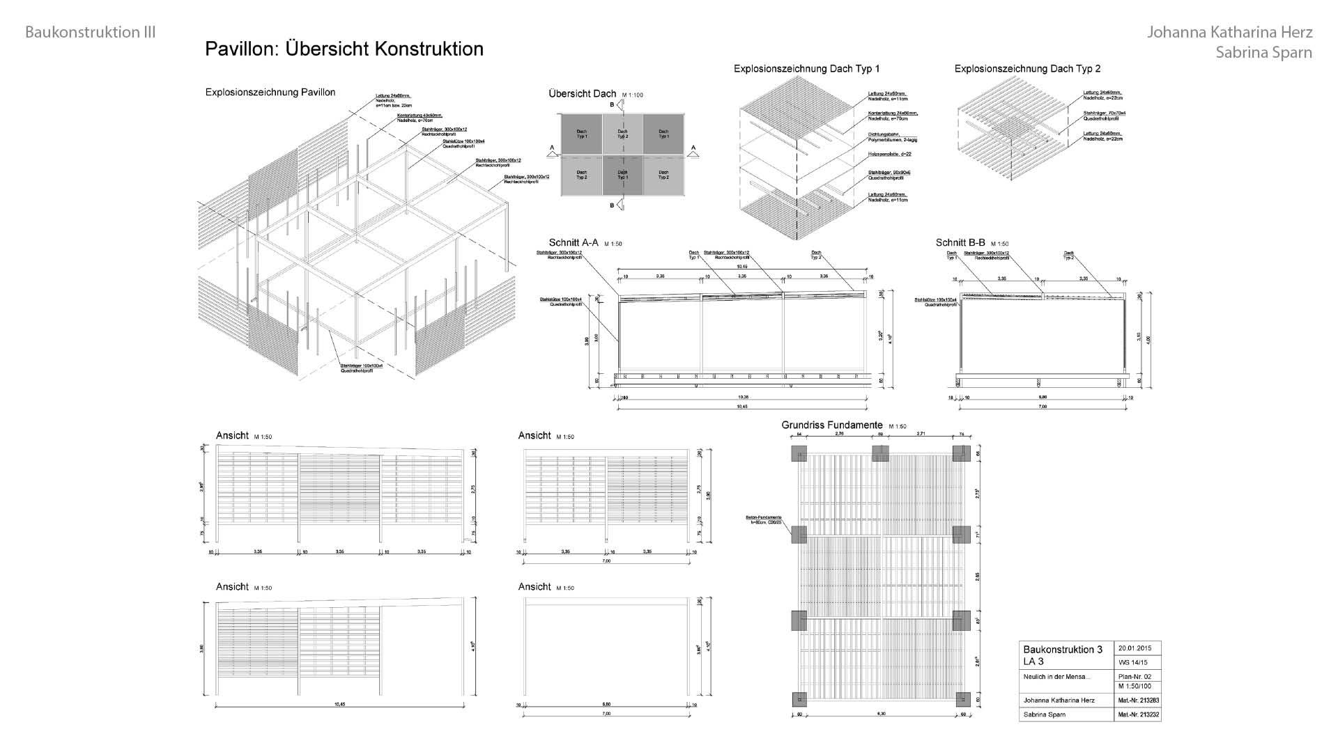 07 14 03 Baukonstruktion III