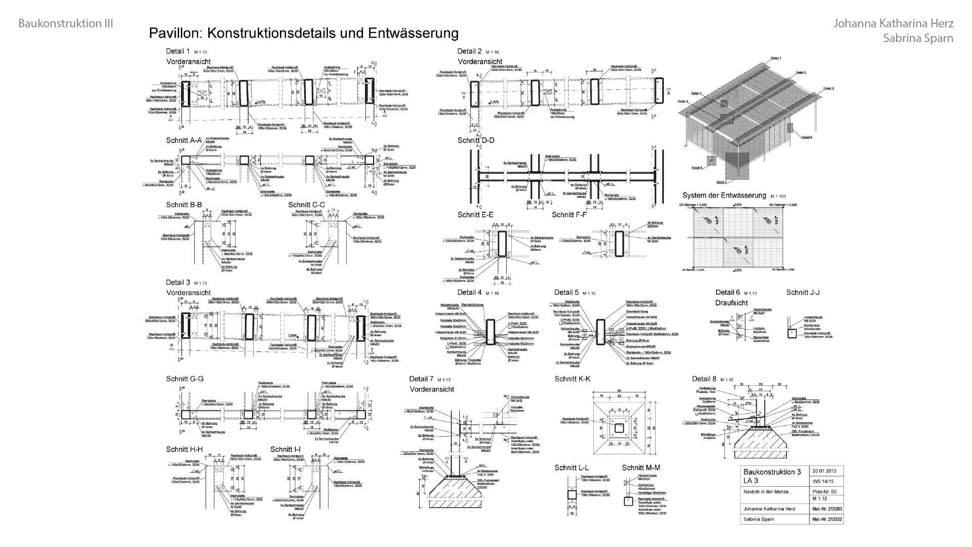 08 14 03 Baukonstruktion III