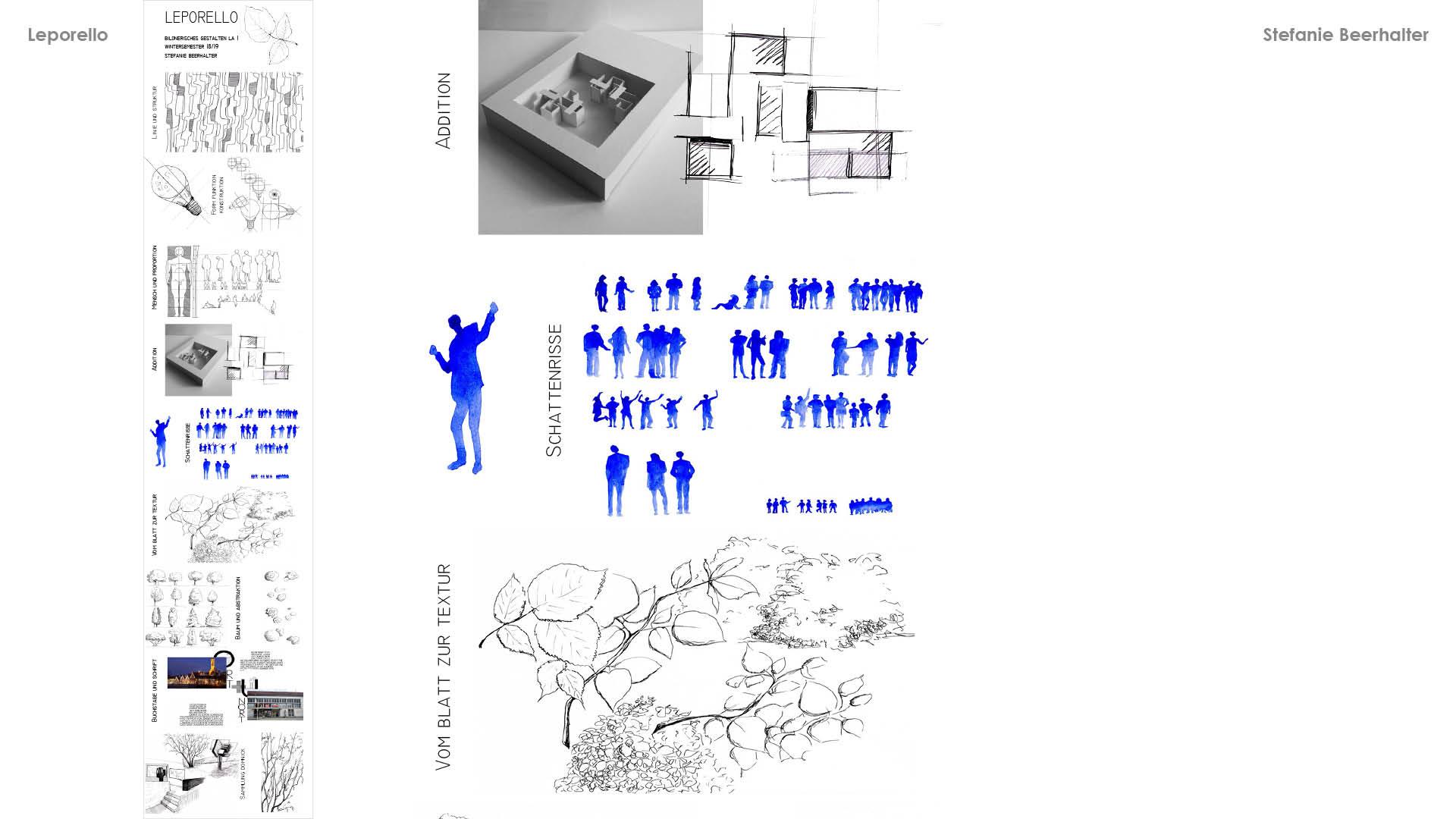 18 1 Bildnerisches Gestalten Leporellos Einzelarbeiten1