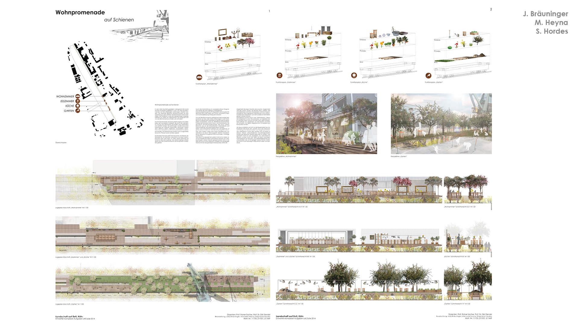 """In den nächsten zehn Jahren soll der Deutzer Hafen bebaut werden, """"Wohnpromenade"""" bringt schon jetzt die Menschen in das Areal."""