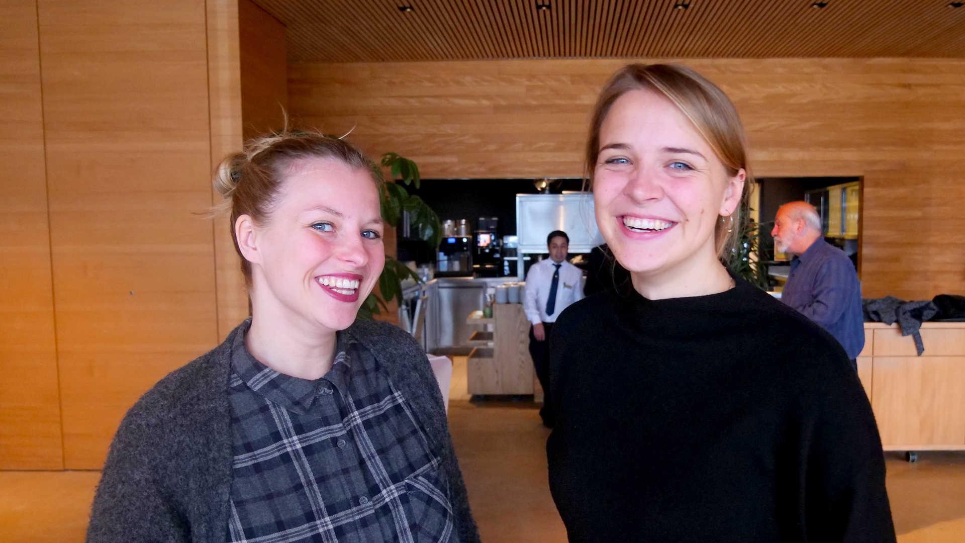 Lydia + Eva