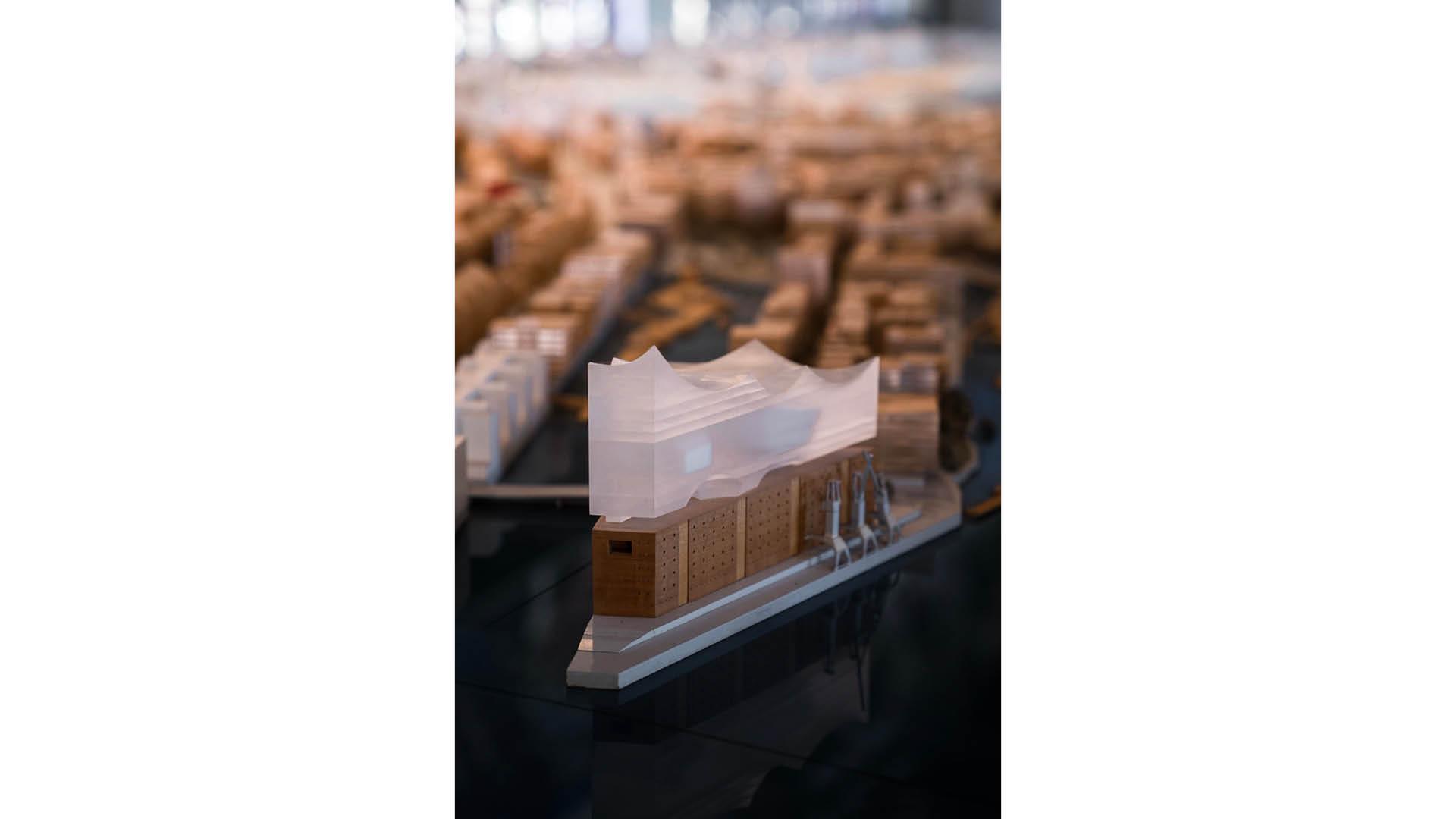 Modell der Elbphilharmonie