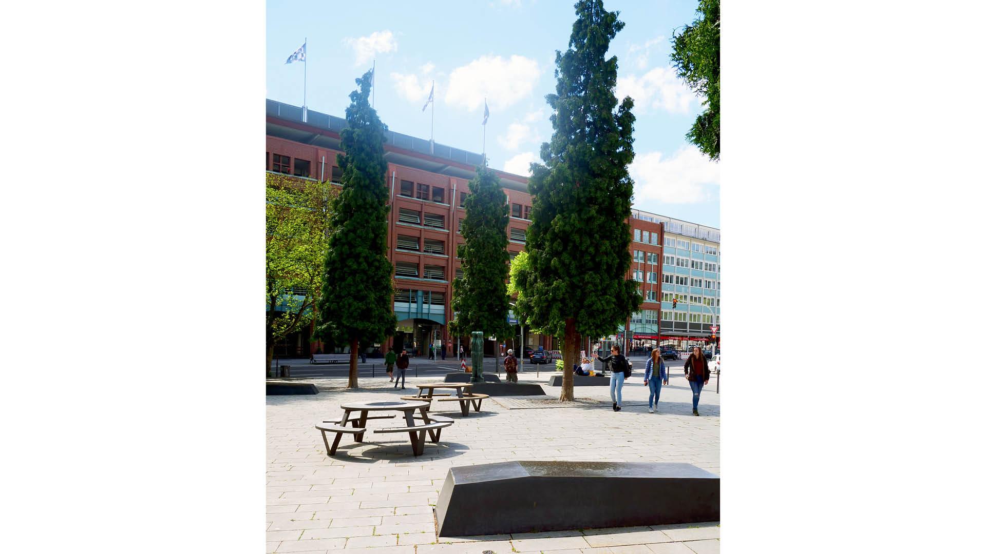 Mammutbäume in der Stadt!