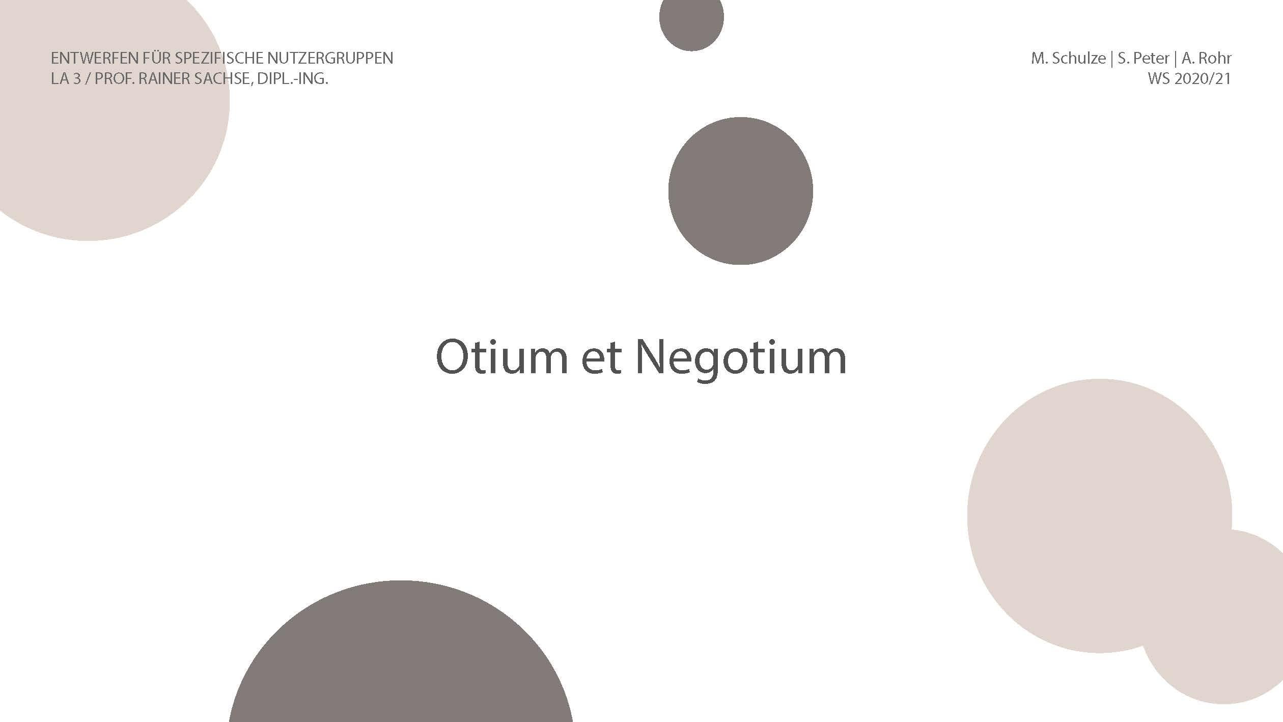 Otium 1