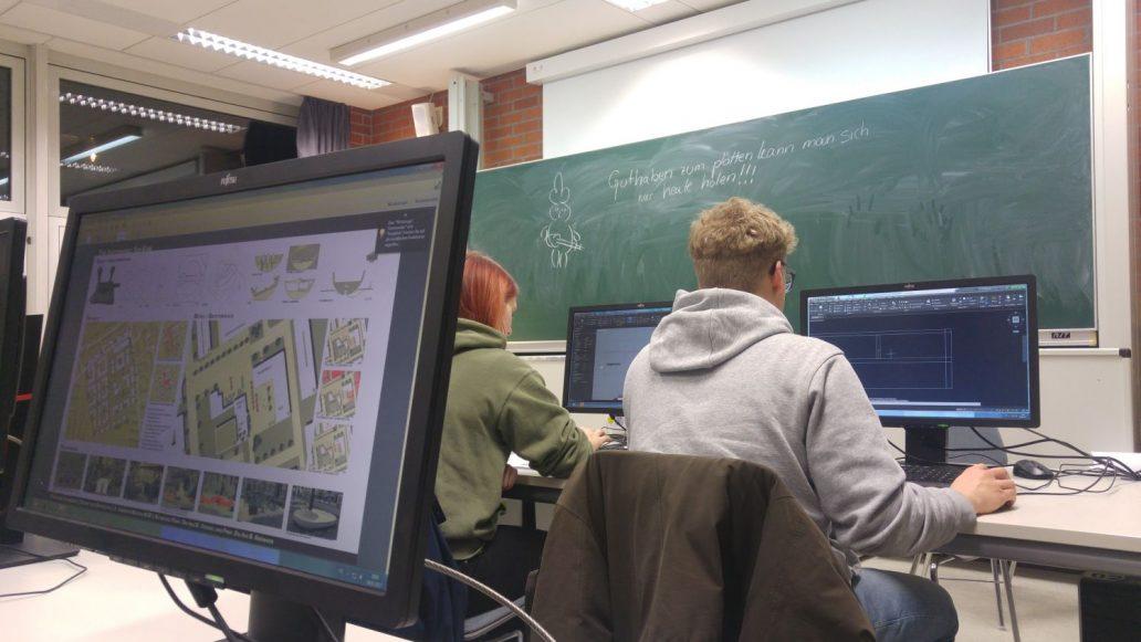 Arbeiten im CAD-Raum (2)